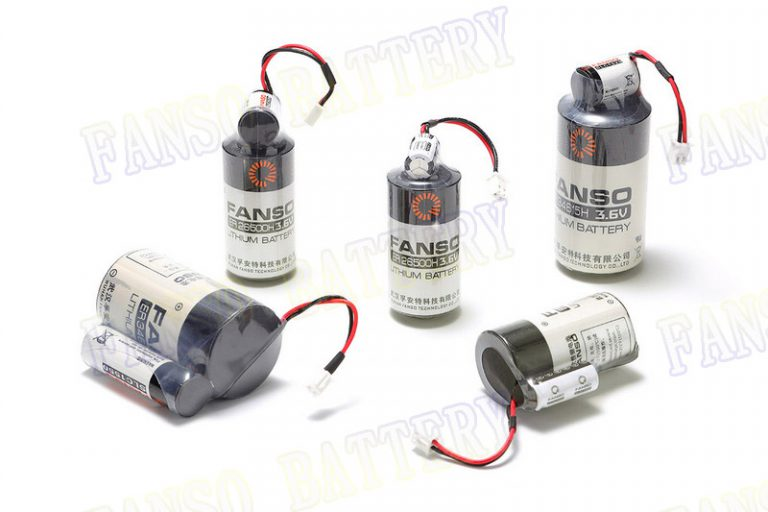 Smart metering: FANSO ER battery with Super capacitor