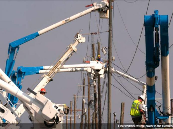 Power restoration Ida