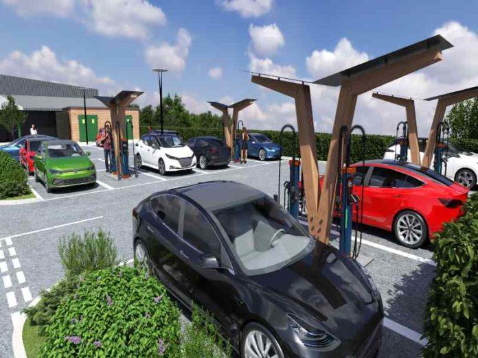 Kempower 8 EV charging system hub