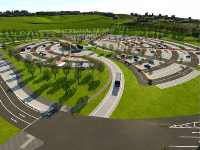 Leeds solar-powered park and ride