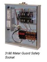 3180 Meter Guard Safety Socket