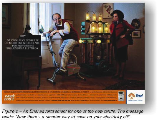 Enel Tariff Ad