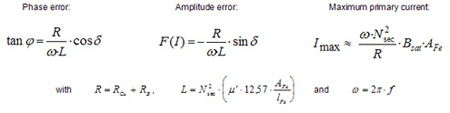 Equation for electrical properties