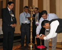 Lighting of the lamp