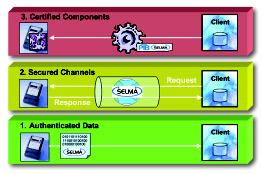 Figure 1: The three application modules of Selma