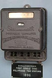 Schellenberger First Polyphase Meter